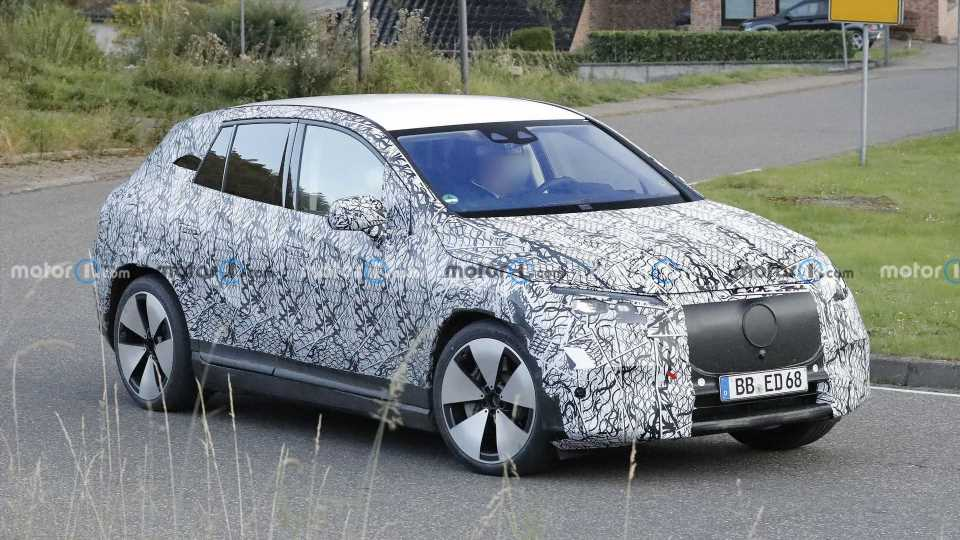 2023 Mercedes EQE SUV Spied For The First Time