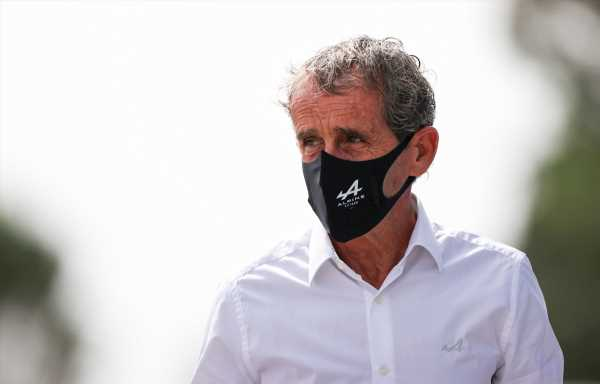 Alain Prost: 'My son said my '83 Renault was sh*t!'