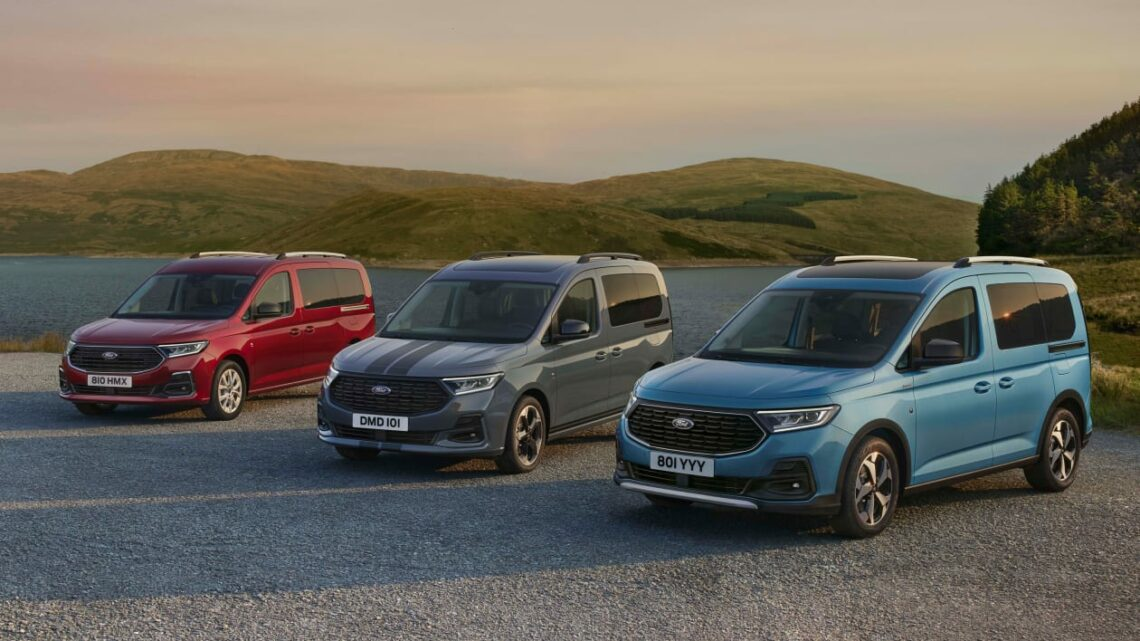 All-new 2022 Ford Tourneo Connect unveiled