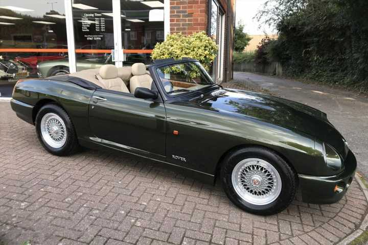Barely run-in, 928-mile MG RV8 for sale