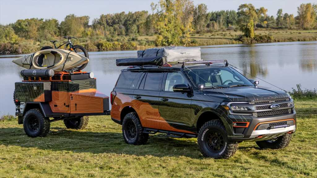 Ford Expedition Timberline Off-Grid Concept Is Ready for Expeditions Near Timberlines