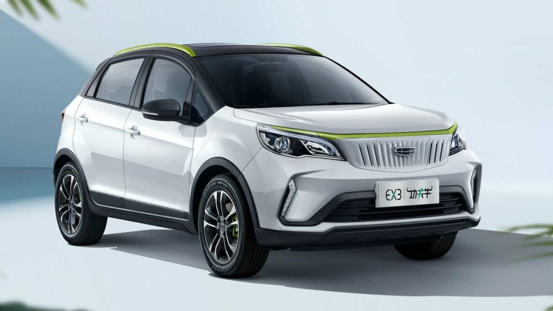 Geely's Geometry EX3 EV Launches In China With $9,250 Base Price