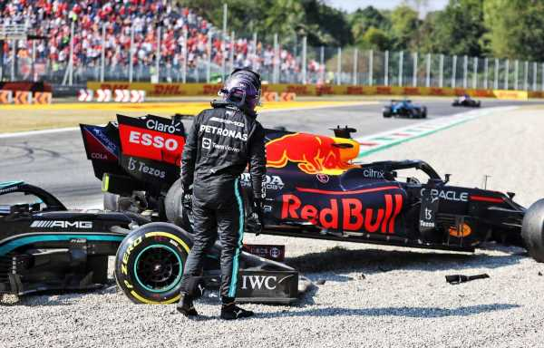 Lewis Hamilton would have checked on Max Verstappen at Monza