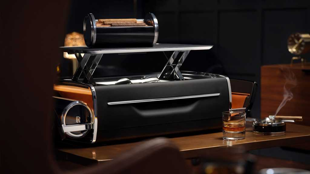 Rolls-Royce's Cellarette Is the Classy Solution to Your Cigar- and Whiskey-Toting Problems