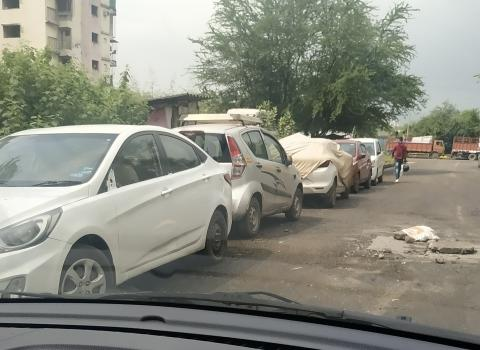 Shady practices with flood-affected cars in India
