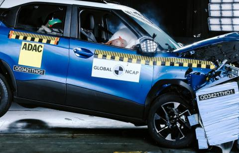 Tata Punch awarded a 5-star safety rating by GNCAP
