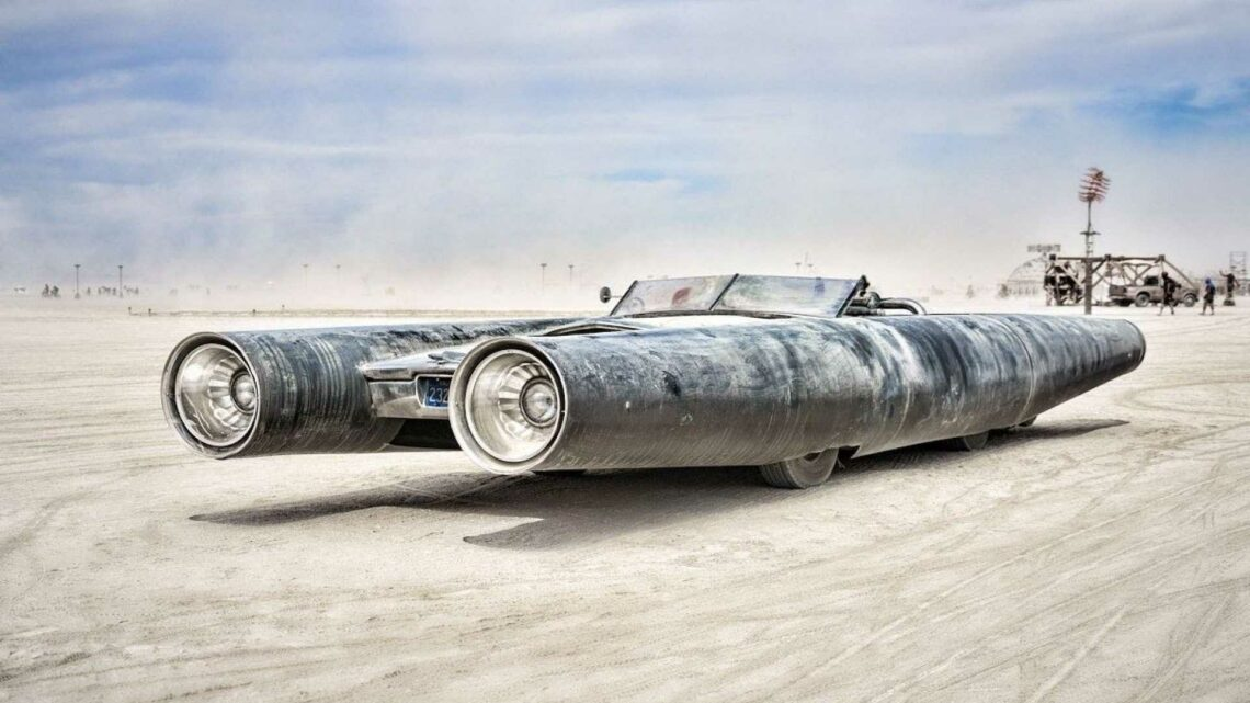 Three Insane Cars From Burning Man Met The Hammer At Sotheby's