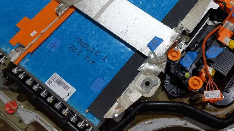 Watch Tesla Model S Plaid's Battery Get Opened And Described